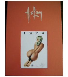Aslan - Portfolio Pin-up 1974